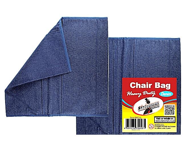 Statesman Chairbag Denim Imported European Quality 1