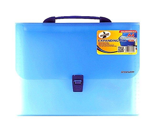 Expanding File 13 Pocket Blue Special Offer 1