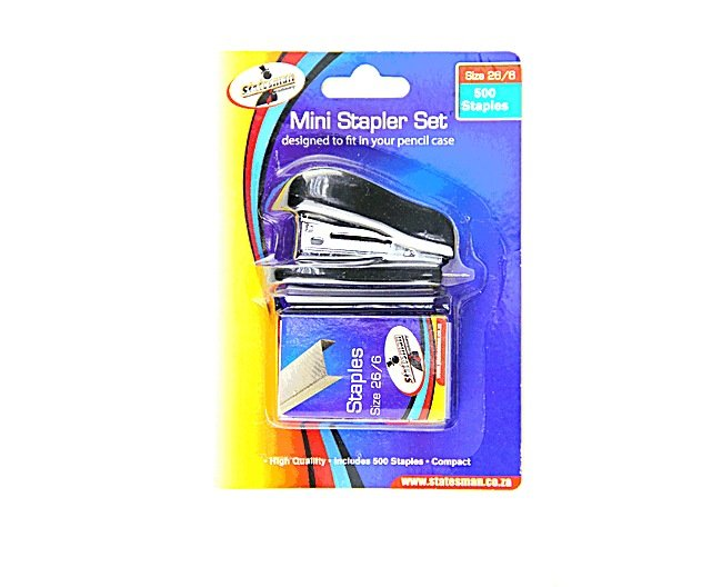 Statesman Mini Stapler Set 1