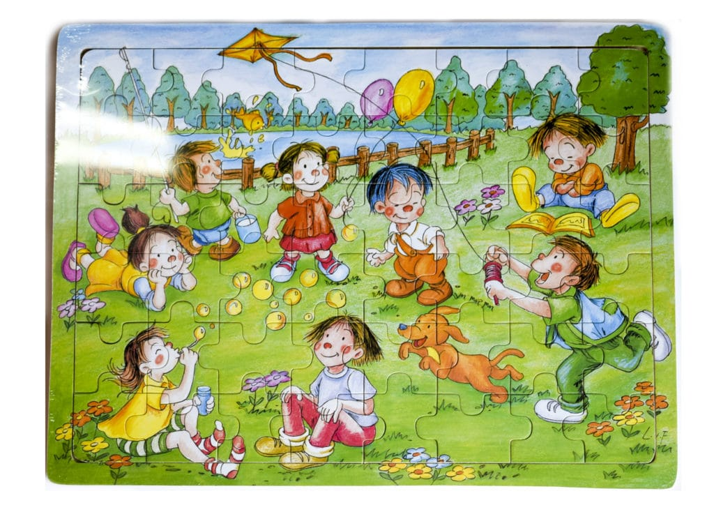 Puzzles Wooden 48pc 1