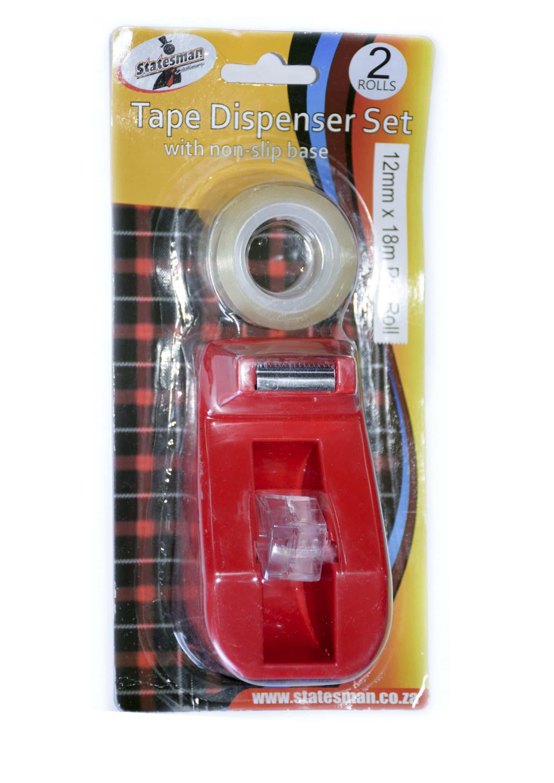 Mini Tape Dispenser With 2 Rolls Tape 1