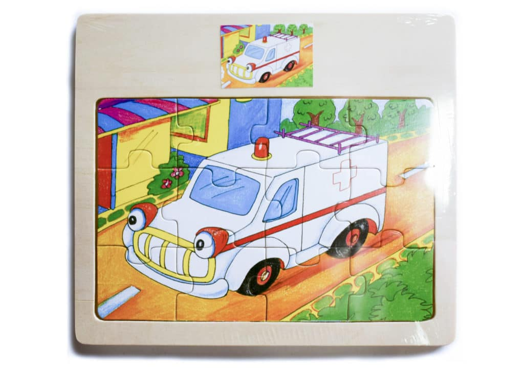 Puzzles Wooden 12pc 1