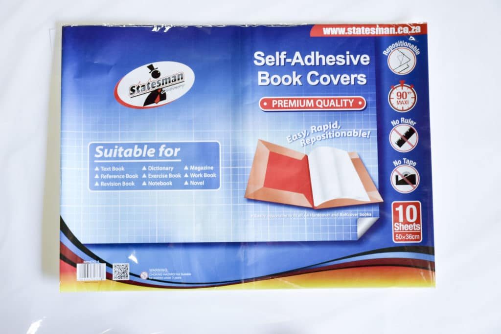 A4 Book Covers Self Adhesive Decifix Ready Cut 10 Pack 1