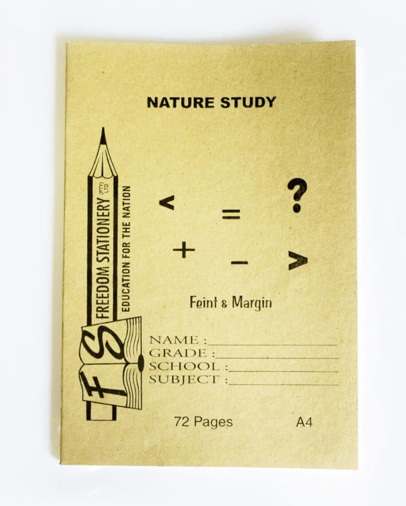 A4 72 Page Nature Study Soft Cover 1