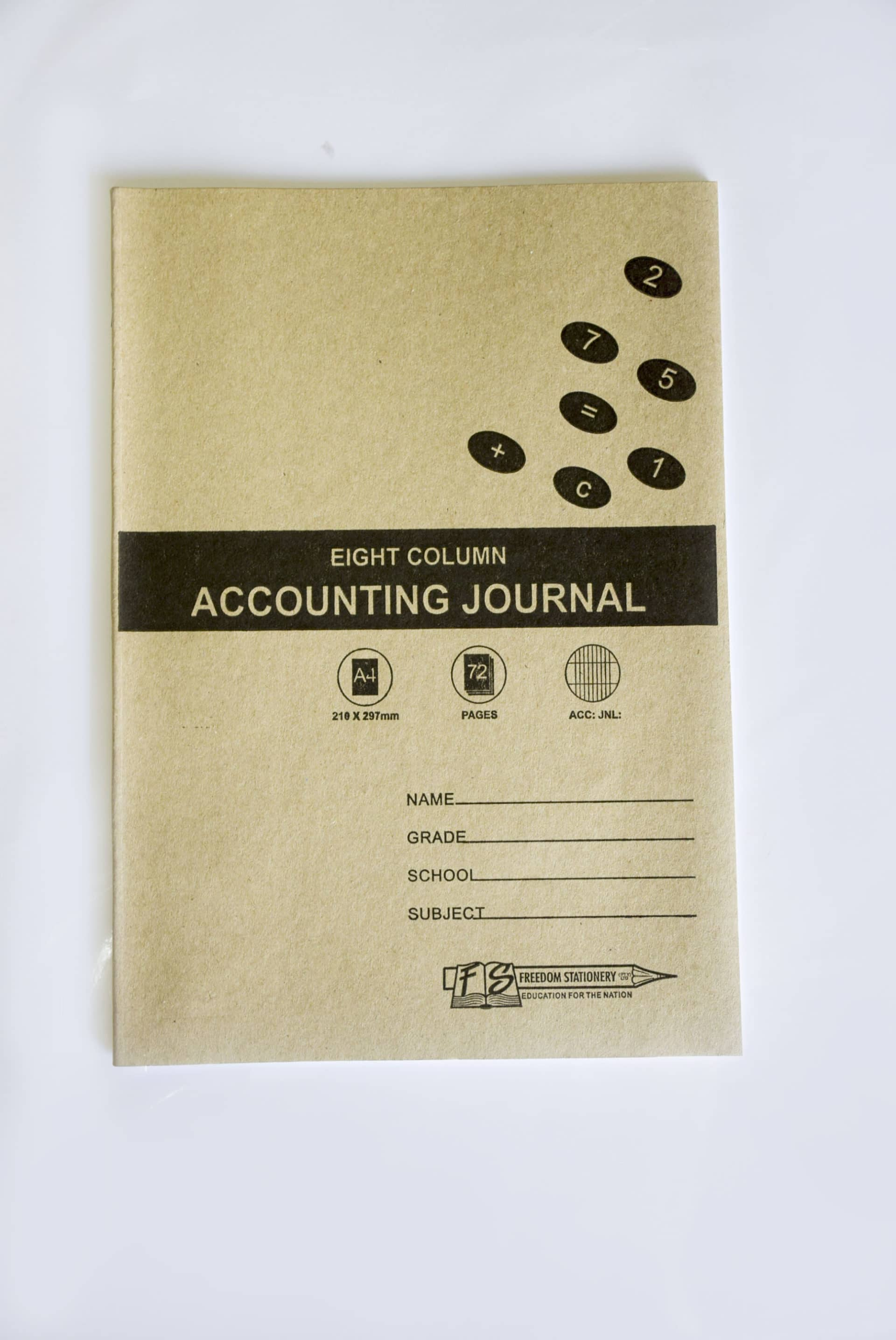 A4 8 Mc Ana Journal 72 Page Soft Cover (2007) 1