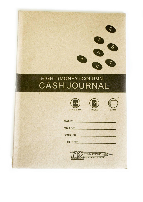 A4 72 Page 8mc Cash Journal Soft Cover (2004) 1