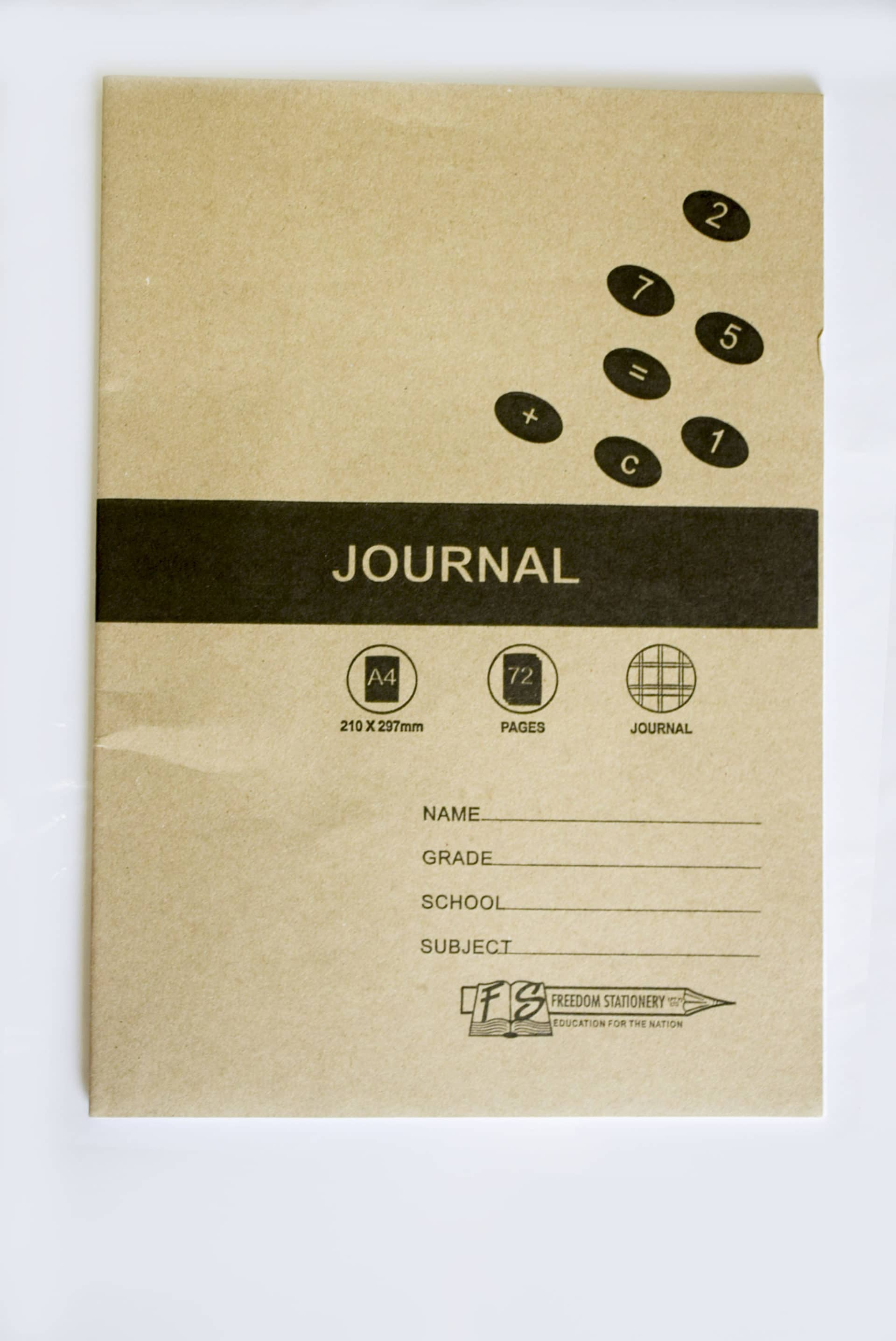 A4 72 Page Journal Soft Cover (2003) 1