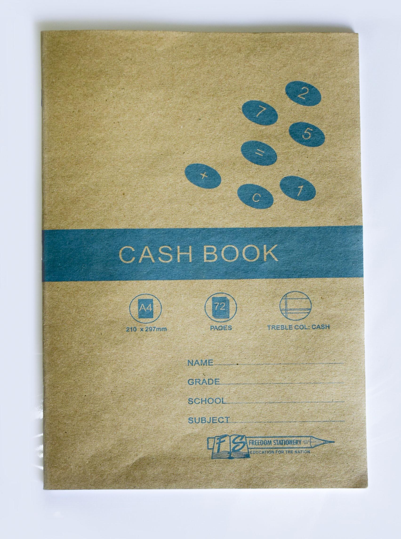 A4 72 Page Cash Book 1