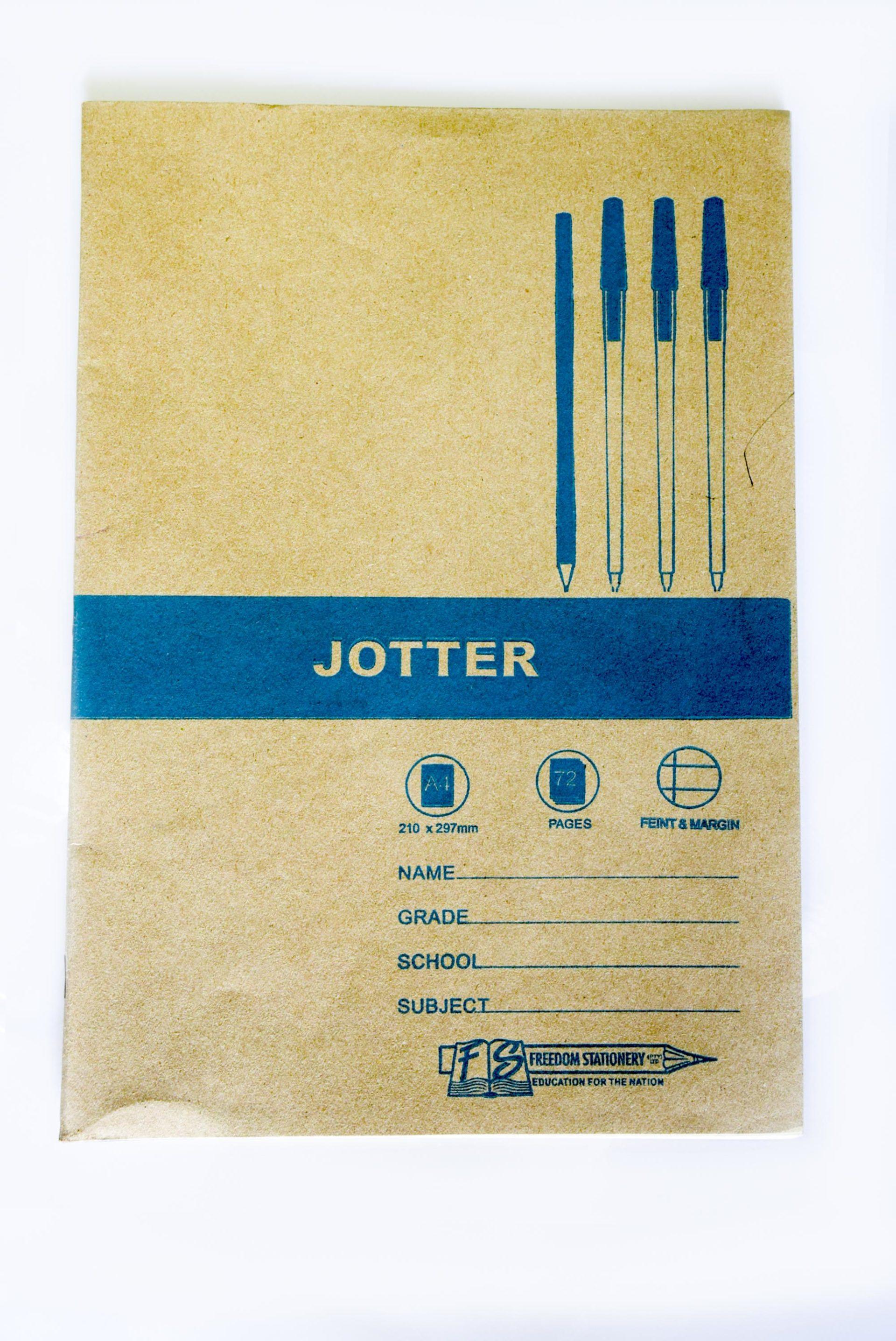A4 Jotter 72 Pg Feint and Margin 1