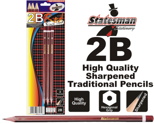2b School and Office Pencils 3 Pack 1