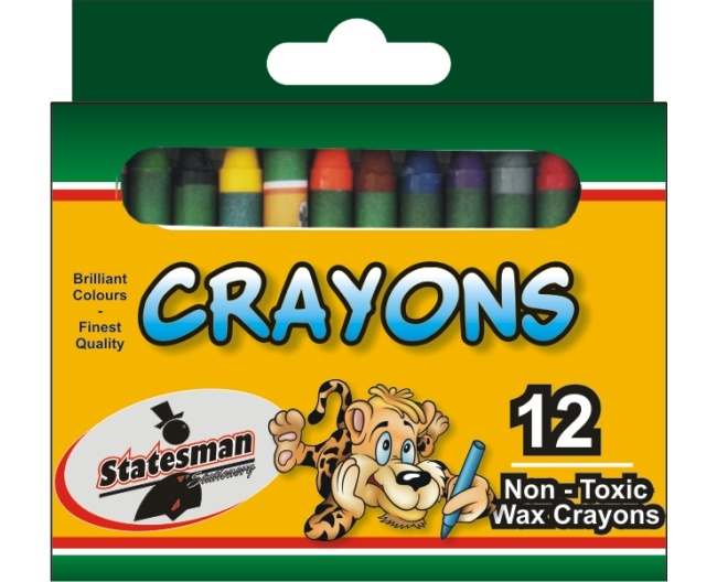 Crayons 12 Pack Standard 1