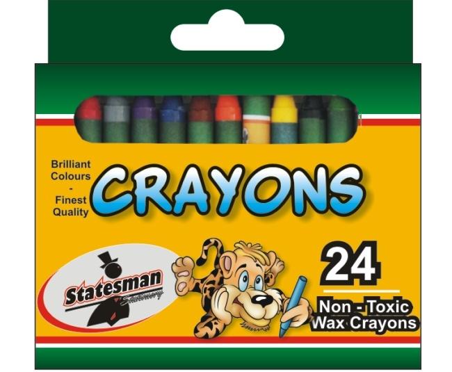 Crayons 24 Pack Standard 1
