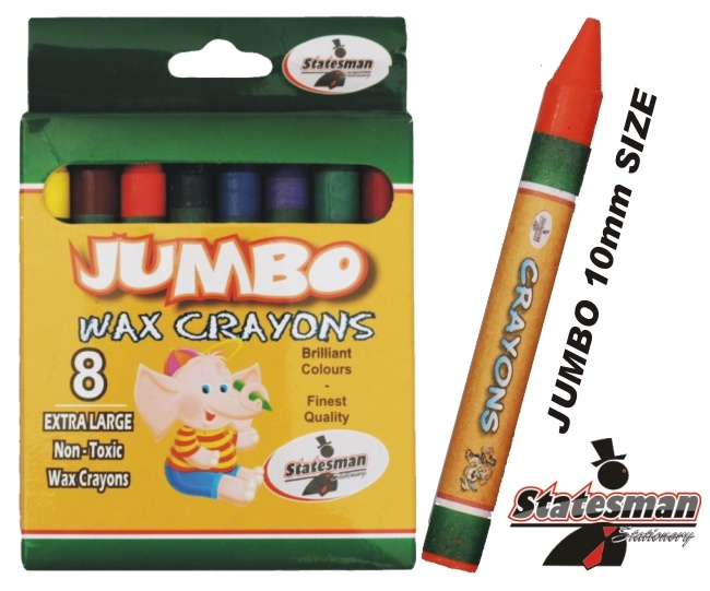 Crayons 8 Pack of Jumbo 1