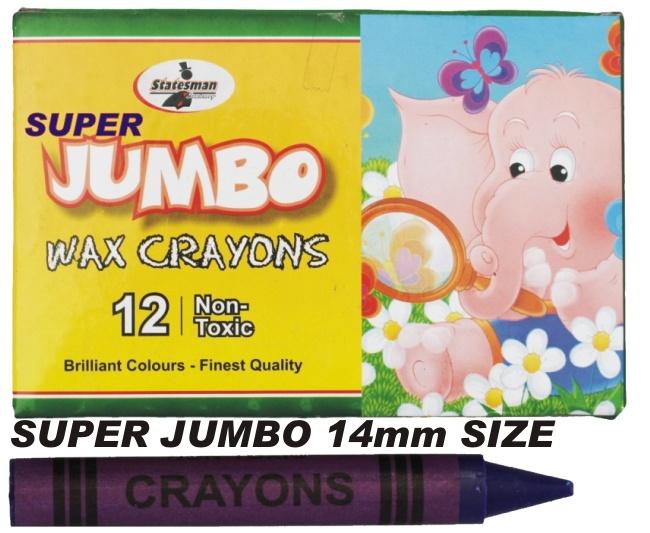 Crayons 12 Pack Super Jumbo 1