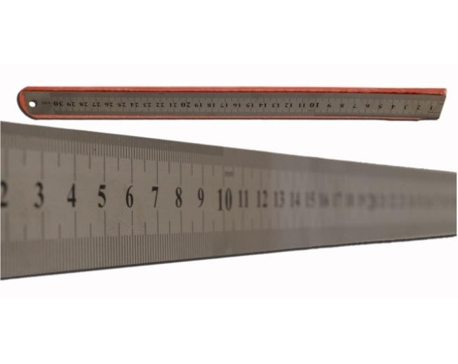 30cm Stainless Steel Ruler 1