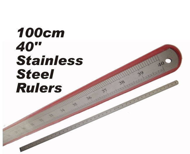 1 Meter (100cm) Stainless Steel Ruler 1