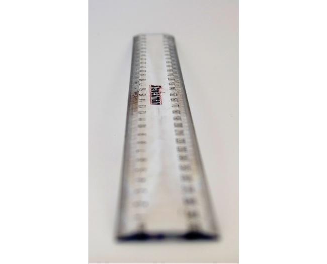 30cm Clear Plastic Ruler 1