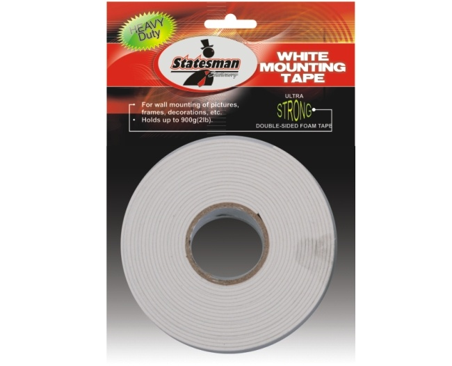 White -2- Way Double Sided Tape 1