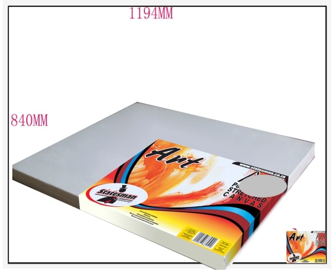 A0 -1189mm X 841mm Stretched Canvas 1