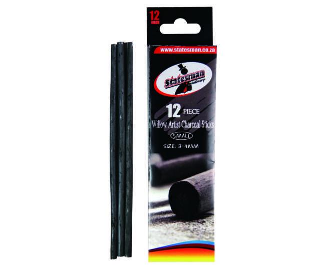 Cedar Wood Artist Charcoal Sticks 3-4mm Thick 1