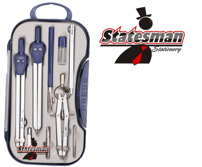 Technical Drawing Mathematical 9 Piece Precision Tool Set 1