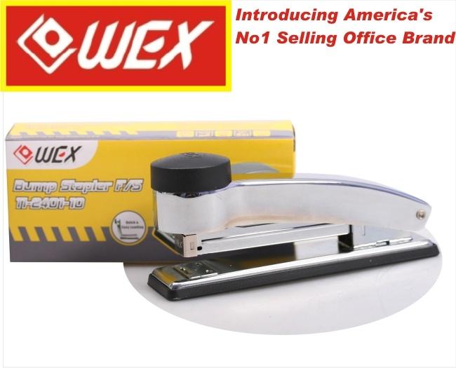 Metal Chrome Full Strip 'bump' Metal Stapler 1