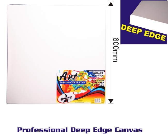 600mm Square Deep Edge Stretched Canvas 1