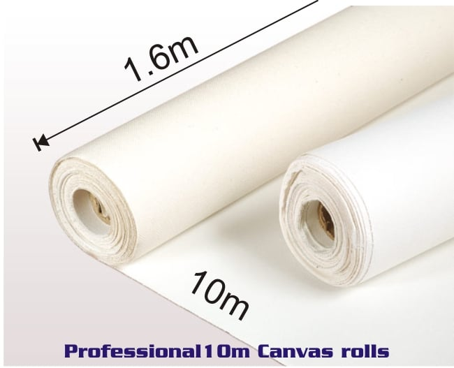 Roll of Professional Canvas 1.6m X 10m 1
