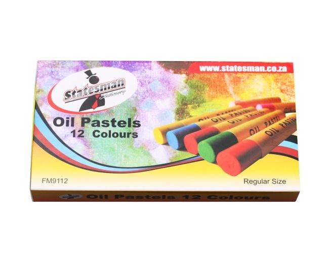 Oil Pastels 12 Colours 1