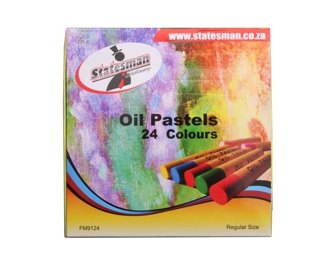 Oil Pastels 24 Colours 1