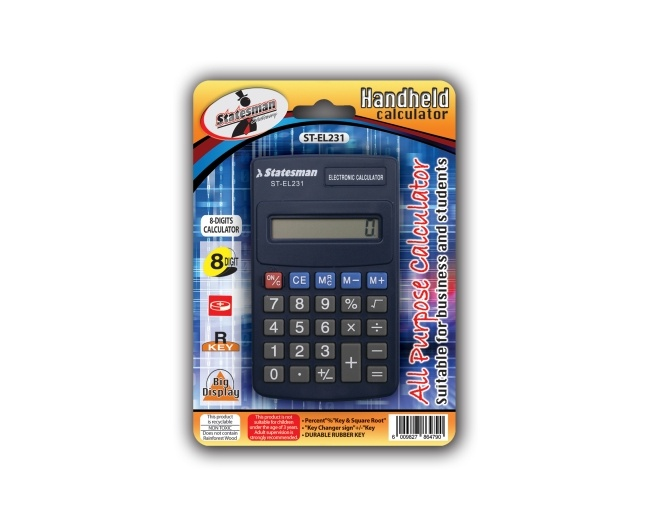 8 Digit Calculator Basic 1