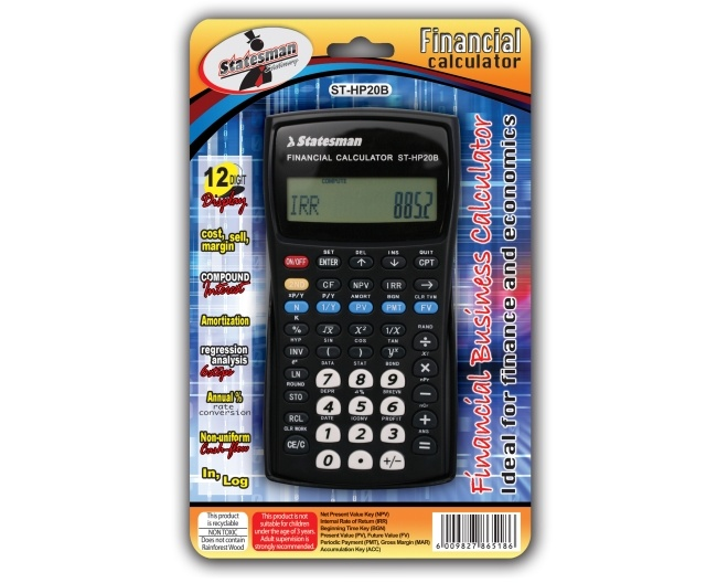 Financial Advanced Calculator 1