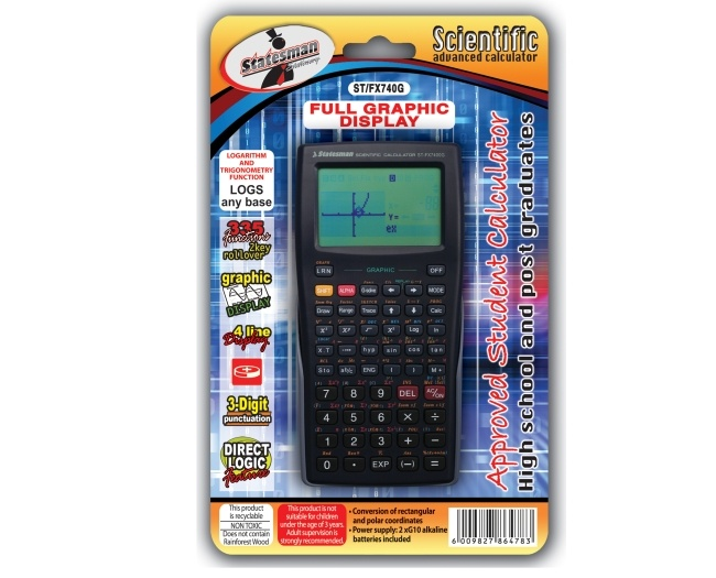 Advanced Graphing Scientific Calculator 1