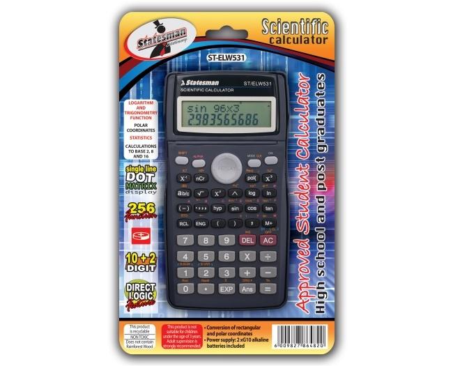 Dal Dot Matrix Calculator Scientific El531 1