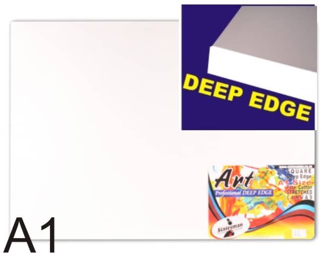 Deep Edge Professional Square  Stretched Canvas 1