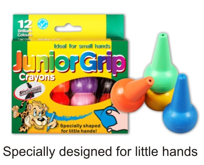 Crayons Junior Grip for 2 to 3  Year Olds 1