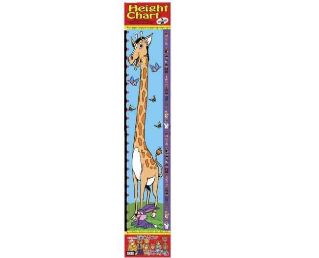 Poster Write and Wipe Height Chart 1