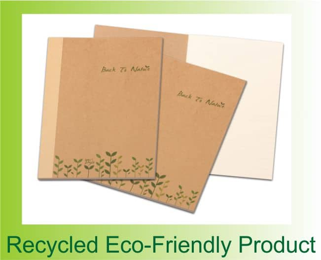 A5 Back to Nature Eco-friendly Notebook 1