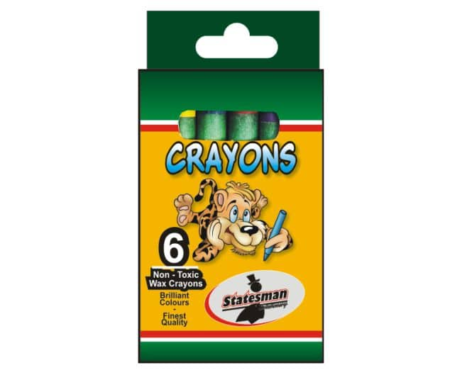 Crayons Standard Size 6s 1