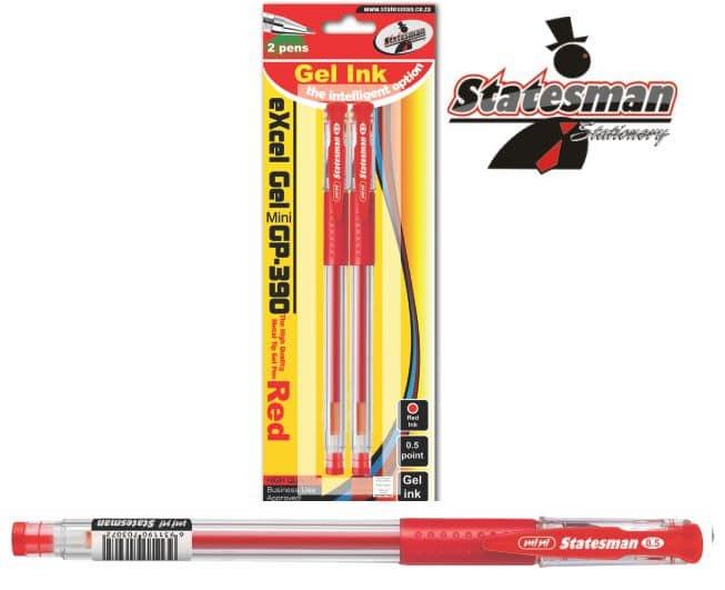 Excel Gel Ink Pens 2 Pack 1