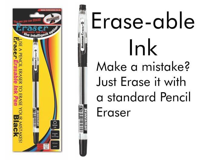 Erasable Ink Pens 1