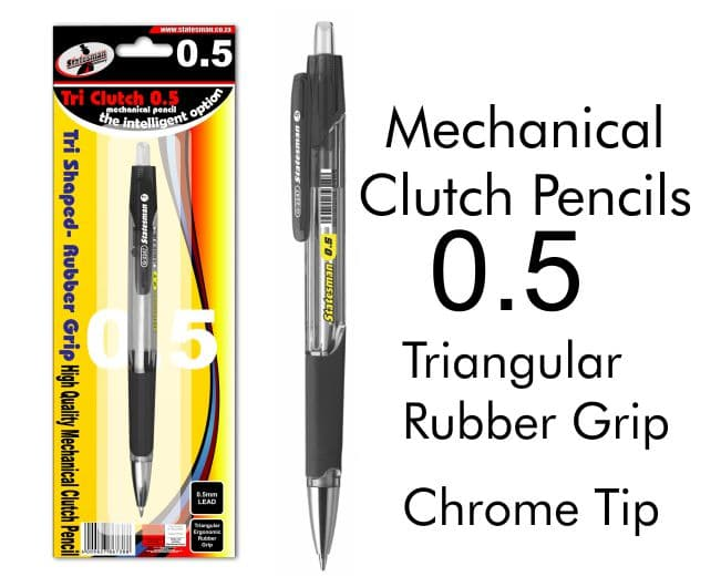 Clutch Pencil  High Quality Mechanical Pencil With Rubber Grip 0.5mm 1