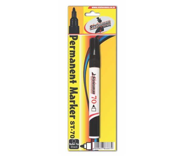 Permanent Marker Black Singles Carded 1
