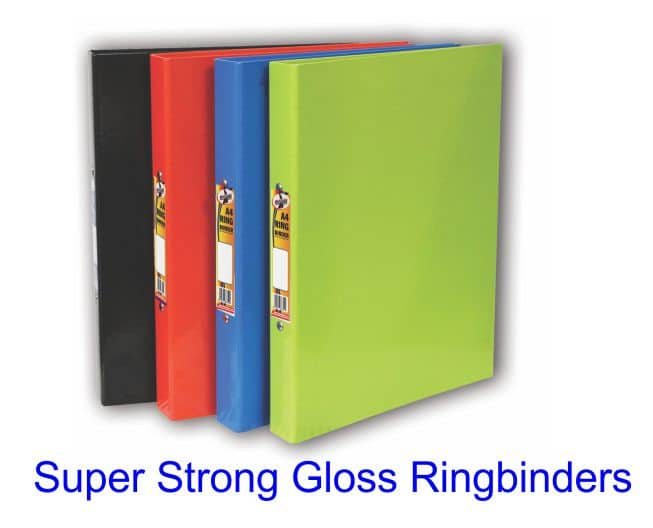 Super Strong Gloss 2-ring Binders 1