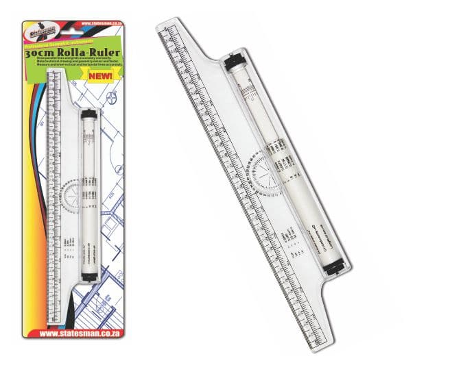 Rolla Ruler  30cm Multifunction for Technical Drawing 1