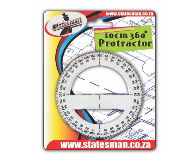 360 Degree 10 Cm Protractor 1
