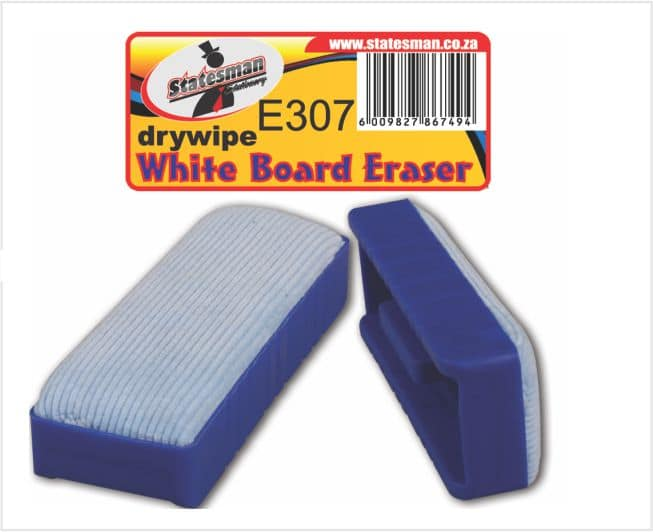 Large Magnetic Dry Wipe White Board Eraser 1