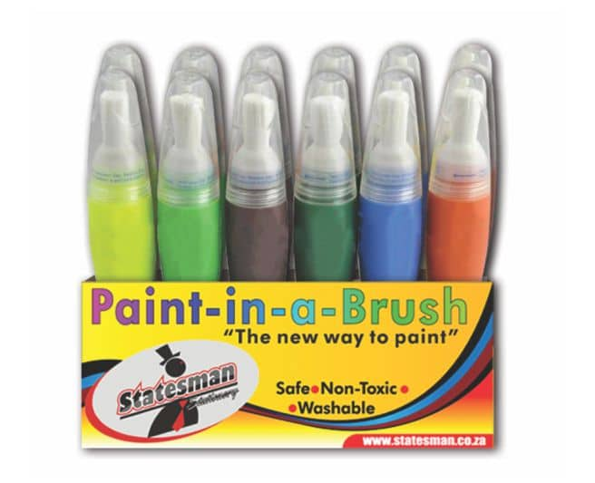 12 Piece Paint in a Brush Set Special Offer 1