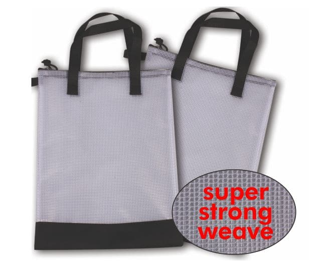 Super Weave Library Bags 340mmx250mm  Instant Washable 1