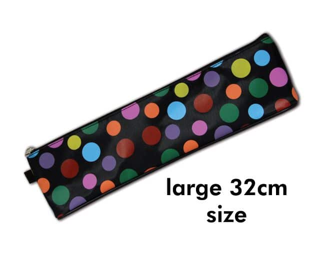 32cm Large High Quality Polka Design Pencil Case 1